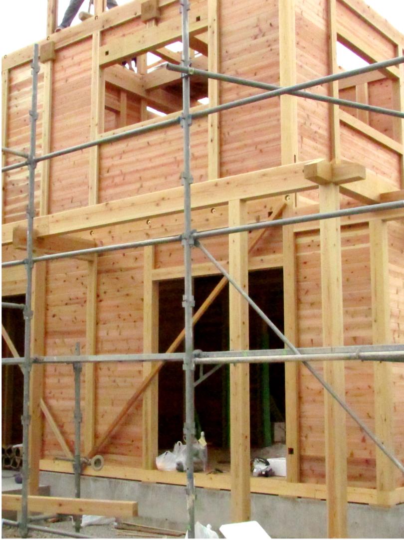 板倉造り 建て方