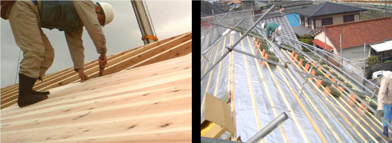 屋根 ・ 瓦葺き工事
