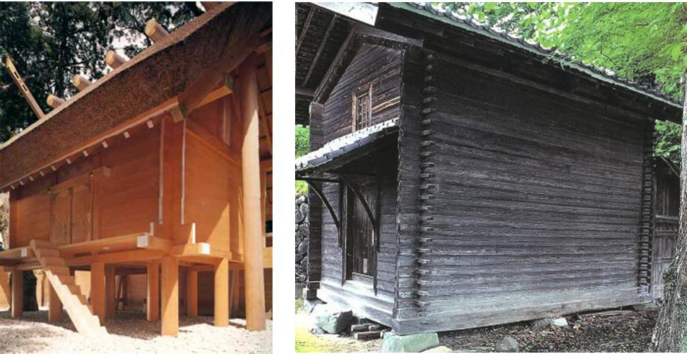 伊勢神宮と茨城県大子町の井籠倉