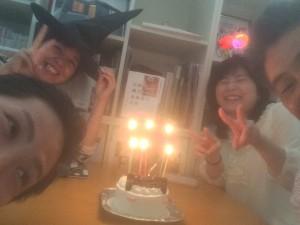 高島さんお誕生日