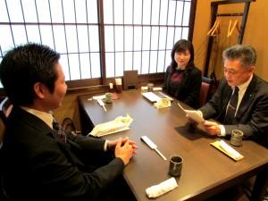 所長から高島さんへお手紙です。