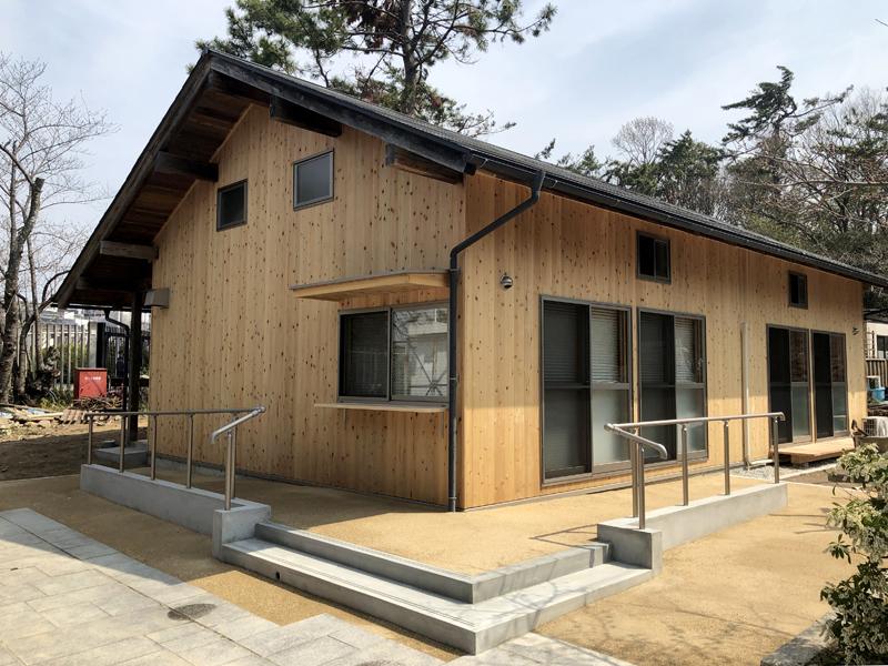 日本民家集落博物館に移築された、福島の応急仮設住宅