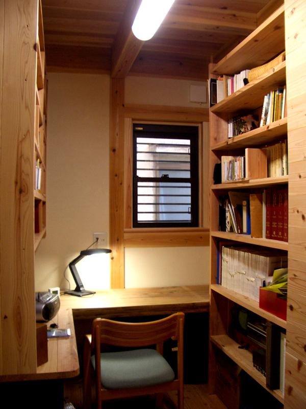 浅香 K様邸『さくらの家』 書斎