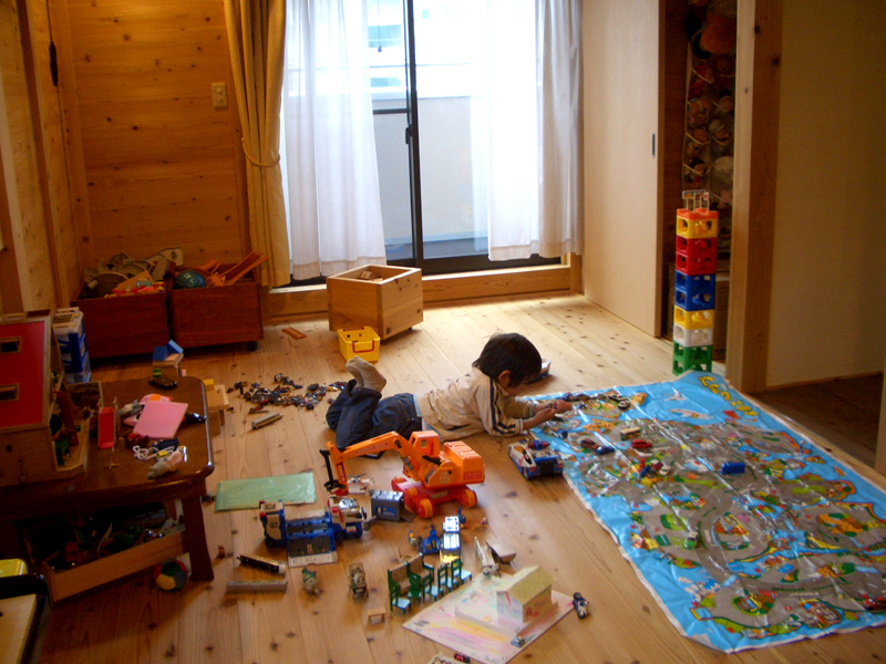 浅香 K様邸『さくらの家』 子ども部屋