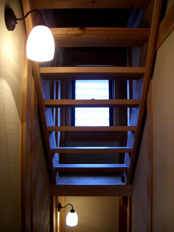 浅香 K様邸『さくらの家』 階段