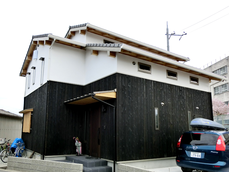 南野田 F邸『ゼロエネの家』 外観