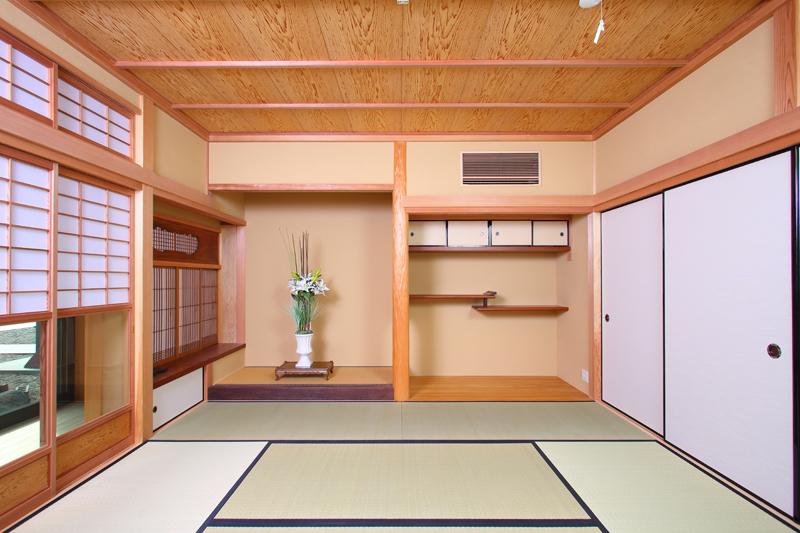 寝屋川木屋元町 板倉造りの庫裏 和室