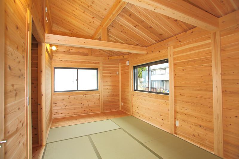 大阪狭山市今熊 Y邸『大切妻屋根の家』 2階和室