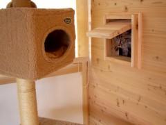 富田林寺池台 I邸 猫ちゃんの出入り口