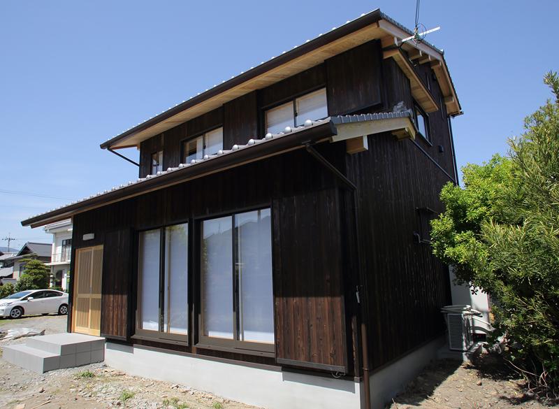 和歌山九度山 S様邸『自然を感じる無垢の家』 外観
