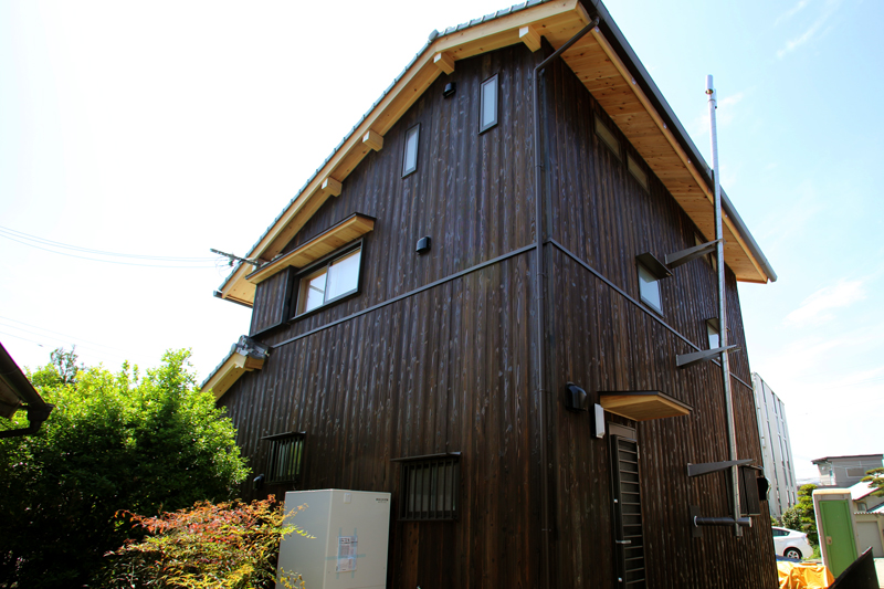 和歌山九度山 S様邸『自然を感じる無垢の家』 外観02