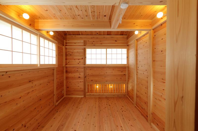和歌山九度山 S様邸『自然を感じる無垢の家』 2F洋室