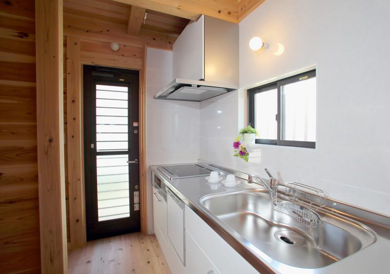 和歌山九度山 S様邸『自然を感じる無垢の家』 キッチン