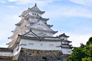漆喰の白が美しい姫路城