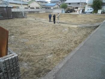 大阪 倉庫新築 敷地調査02