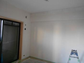 大阪旭区 自然素材のマンションリフォーム 漆喰仕上げ02