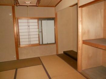 奈良広陵 無垢と漆喰の耐震リフォーム 解体前現場確認07