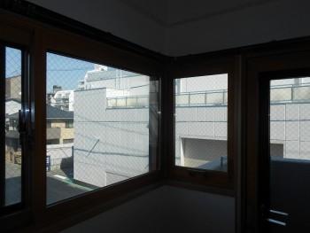 大阪旭区 自然素材のマンションリフォーム 内窓取付02