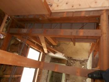 奈良広陵 無垢と漆喰の耐震リフォーム 浴室解体05