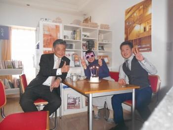大和さんの誕生日のお祝いしました01 ~大阪で板倉造り・自然素材と木の家なら~