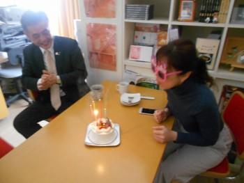 大和さんの誕生日のお祝いしました02 ~大阪で板倉造り・自然素材と木の家なら~