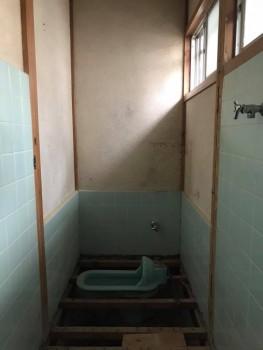 八尾弓削 自然素材リフォーム トイレ改修01