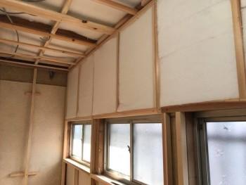 八尾弓削 自然素材リフォーム トイレ改修床・壁07