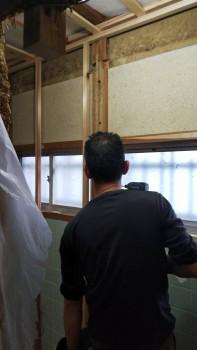八尾弓削 自然素材リフォーム トイレ改修床・壁06