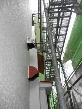 奈良広陵 無垢と漆喰の耐震リフォーム 外壁塗装開始01