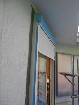 奈良広陵 無垢と漆喰の耐震リフォーム シャッター新設03