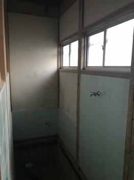八尾弓削 自然素材リフォーム トイレ改修02