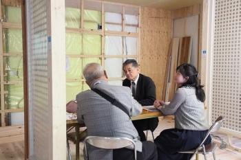 2018.4.28 奈良広陵 無垢と漆喰の耐震リフォーム 完成前見学会03
