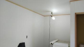 奈良広陵 無垢と漆喰の耐震リフォーム 2階和紙完了01