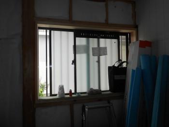 奈良広陵 無垢と漆喰の耐震リフォーム 窓ガラス取替01