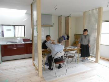2018.5.26 奈良広陵 無垢と漆喰の耐震リフォーム 完成見学会01