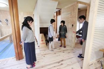 2018.4.28 奈良広陵 無垢と漆喰の耐震リフォーム 完成前見学会06