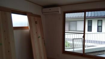 奈良広陵 無垢と漆喰の耐震リフォーム 内窓取付01