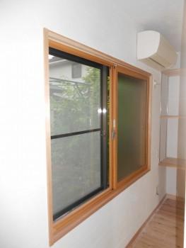 奈良広陵 無垢と漆喰の耐震リフォーム 内窓取付03