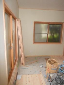 奈良広陵 無垢と漆喰の耐震リフォーム 内窓取付04