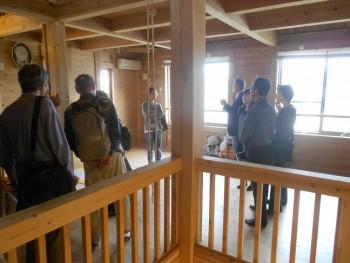築3年の板倉造りの家見学会