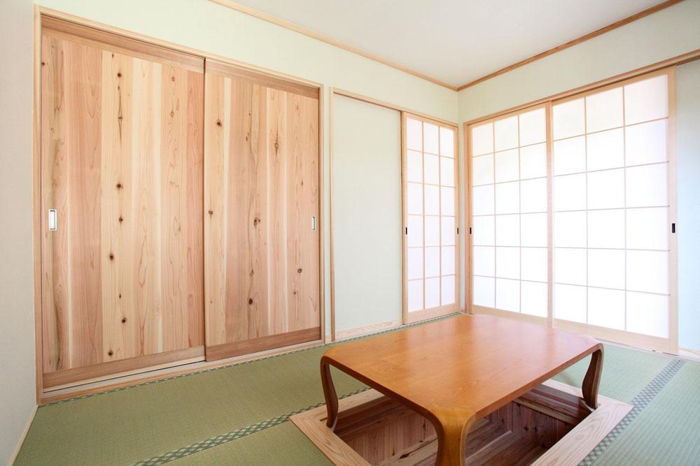 奈良広陵 S様邸 耐震リフォーム after 1F和室。