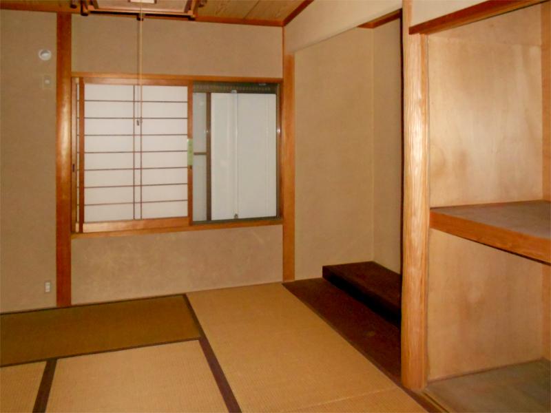 奈良広陵 S様邸 耐震リフォーム before 1F和室