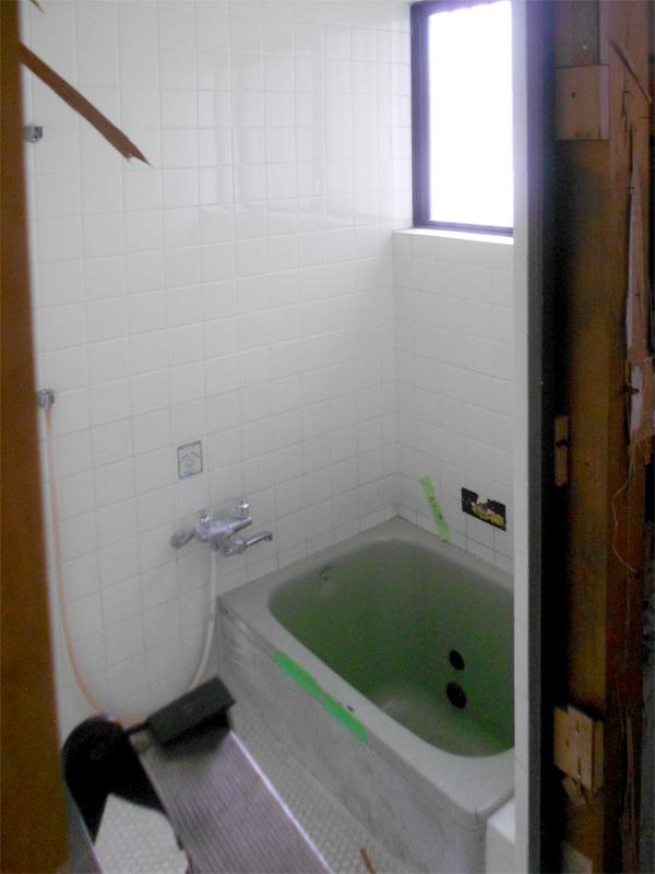 奈良広陵 S様邸 耐震リフォーム before 浴室