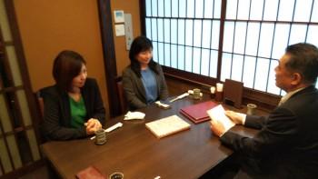 優良従業員表彰式典で大和さんが表彰されました。05
