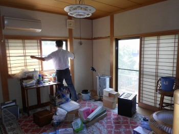 大阪 交野 自然素材健康住宅の耐震リフォーム 現地調査01
