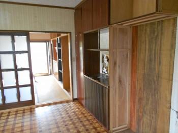 大阪 交野 自然素材健康住宅の耐震リフォーム 部分解体開始01
