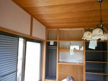 大阪 交野 自然素材健康住宅の耐震リフォーム 部分解体開始02
