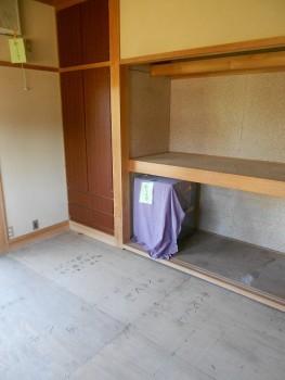 大阪 交野 自然素材健康住宅の耐震リフォーム 畳撤去02