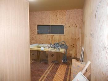 大阪 交野 自然素材健康住宅の耐震リフォーム 2階天井ボード施工01