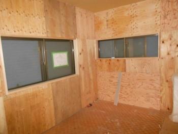大阪 交野 自然素材健康住宅の耐震リフォーム 2階天井ボード施工02